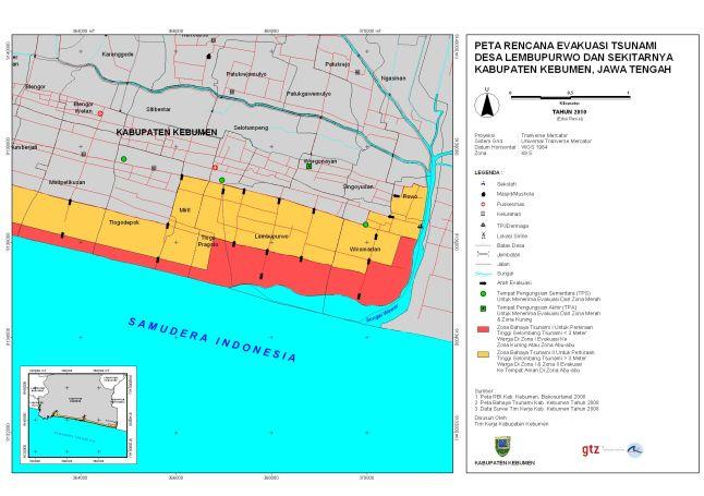 Peta Evakuasi Desa Lembupurwo