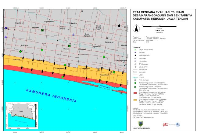 Peta Evakuasi Karanggadung