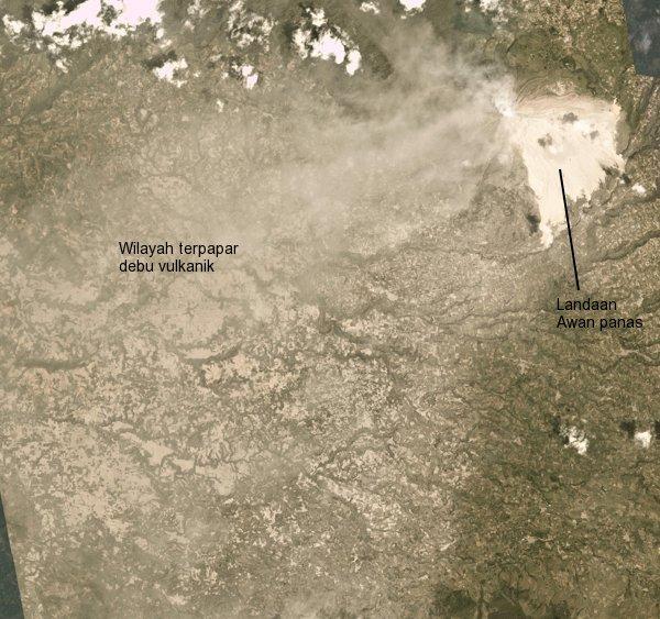Letusan Besar Gunung Sinabung 19 Februari 2018 Ekliptika